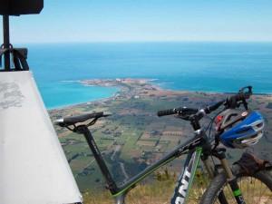 Mt Fyffe overlooking Kaikoura Peninsula