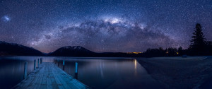 Lake Rotoiti by night