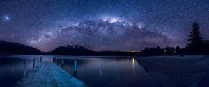 Lake Rotoiti by night